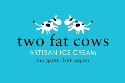 Two Fat Cows Logo